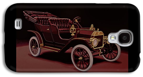 Ford Model T Touring 1908 Painting Galaxy S4 Case