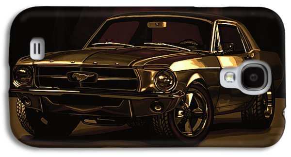 Ford Mustang 1967 Mixed Media Galaxy S4 Case