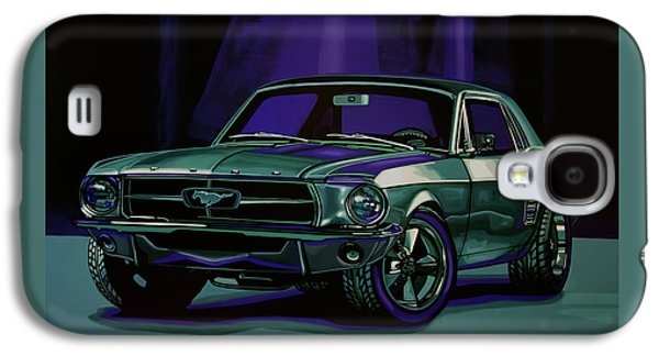 Falcon Galaxy S4 Case - Ford Mustang 1967 Painting by Paul Meijering