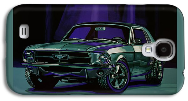Ford Mustang 1967 Painting Galaxy S4 Case by Paul Meijering