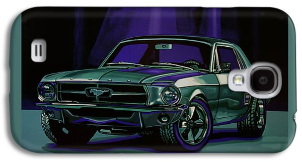 Car Galaxy S4 Case - Ford Mustang 1967 Painting by Paul Meijering