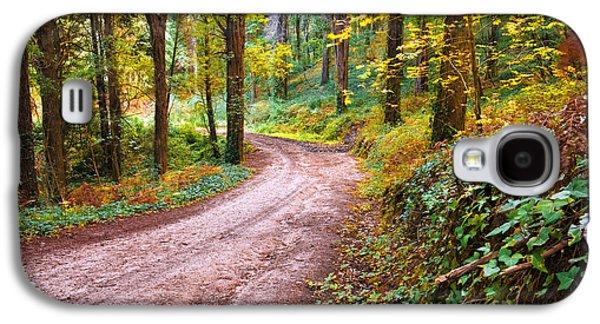 Forest Footpath Galaxy S4 Case