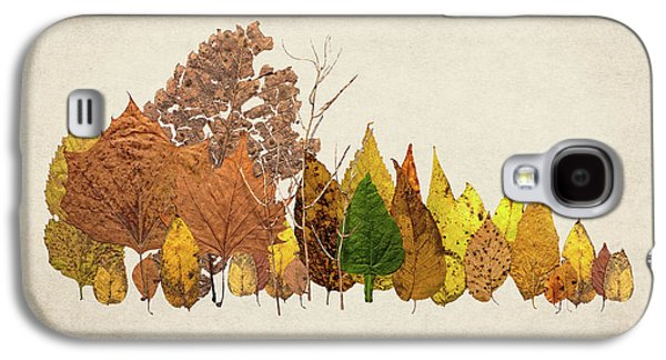 Forest Of Autumn Leaves I Galaxy S4 Case by Tom Mc Nemar