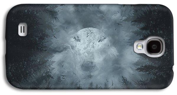 Forest Wolf Galaxy S4 Case