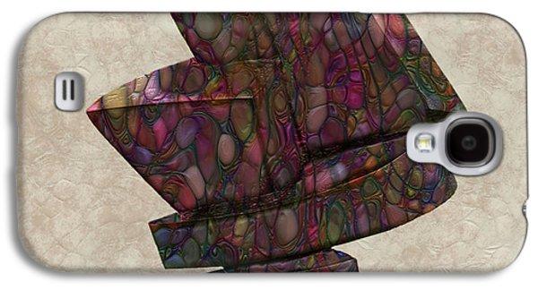 Form Sculpture Galaxy S4 Case by Jack Zulli