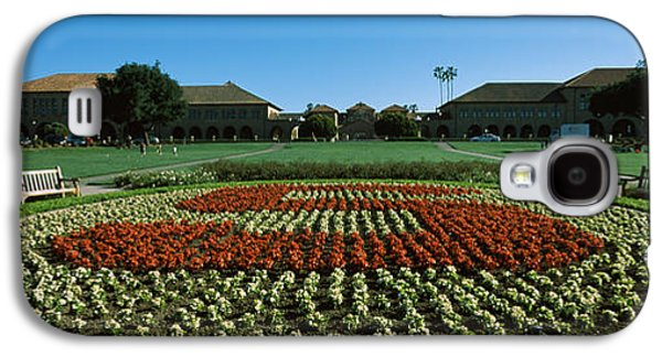 Formal Garden At The University Campus Galaxy S4 Case by Panoramic Images