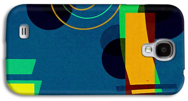 Abstract Digital Art Galaxy S4 Case - Formes - 03b by Variance Collections