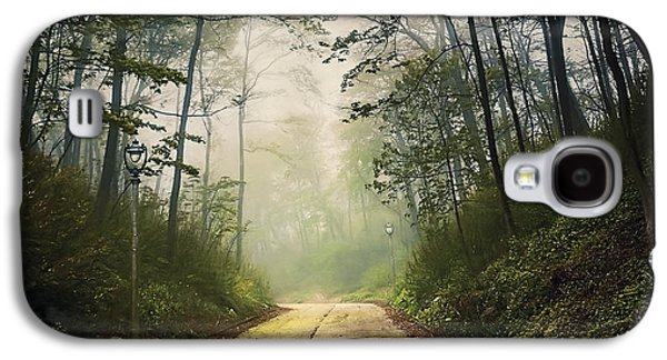 Forsaken Road Galaxy S4 Case by Scott Norris