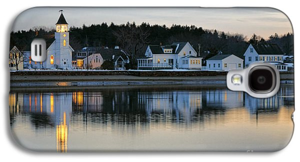 Fort Baldwin Winter Evening Galaxy S4 Case by Olivier Le Queinec