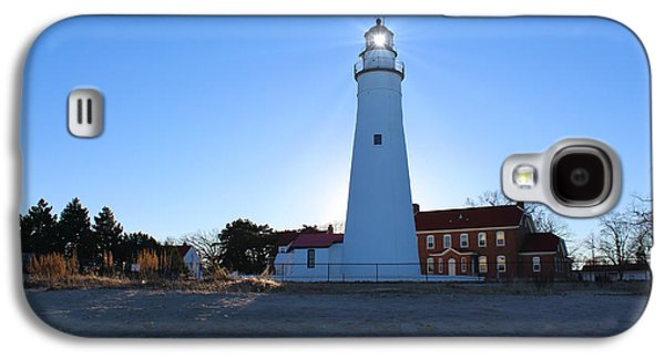 Fort Gratiot Lighthouse Galaxy S4 Case by Michael Rucker