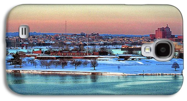Fort Mchenry Shrouded In Snow Galaxy S4 Case