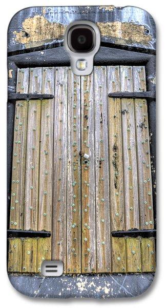 Fort Moultrie Bunker Door Galaxy S4 Case by Dustin K Ryan