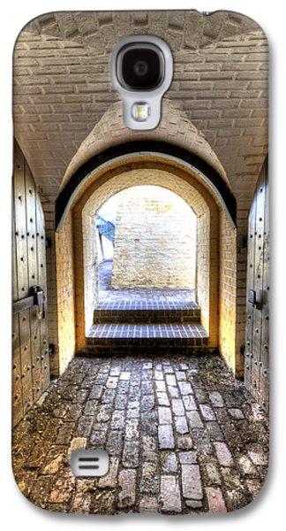 Fort Moultrie Bunker Doors Galaxy S4 Case by Dustin K Ryan
