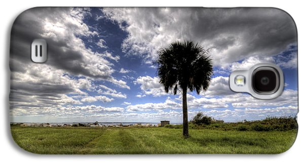 Fort Moultrie Palm  Galaxy S4 Case by Dustin K Ryan
