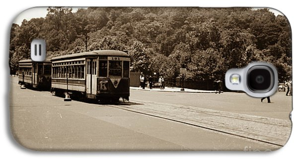 Fort Tryon Trolley Galaxy S4 Case