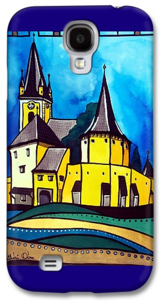 Fortified Medieval Church In Transylvania By Dora Hathazi Mendes Galaxy S4 Case by Dora Hathazi Mendes