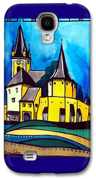 Fortified Medieval Church In Transylvania By Dora Hathazi Mendes Galaxy S4 Case