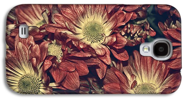 Variance Collections Galaxy S4 Cases - Foulee de petales - 04b Galaxy S4 Case by Variance Collections