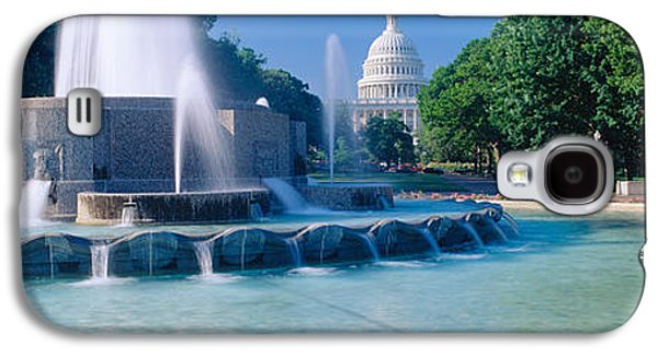 Fountain And Us Capitol Building Galaxy S4 Case