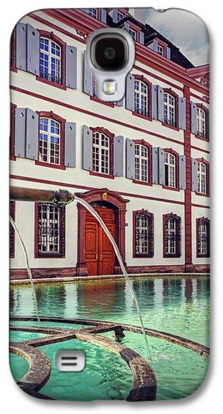 Fountains Of Basel Switzerland Galaxy S4 Case by Carol Japp