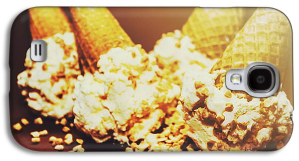 Four Artistic Ice-cream Cones Galaxy S4 Case by Jorgo Photography - Wall Art Gallery