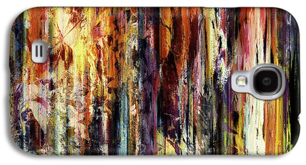 Four Seasons In One Forest Abstract Galaxy S4 Case