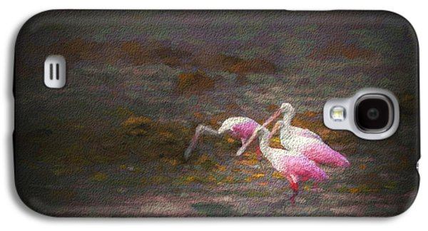 Spoonbill Galaxy S4 Case - Four Spoons On The Marsh by Marvin Spates