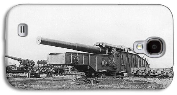 Fourteen Inch Gun Galaxy S4 Case by Underwood Archives