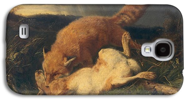 Fox And Hare Galaxy S4 Case by Johann Baptist Hofner