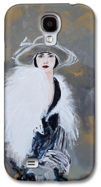 Foxy Lady Galaxy S4 Case by Susan Adams