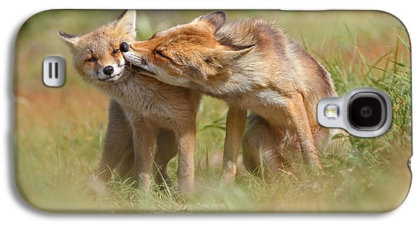 Foxy Love Series - But Mo-om II Galaxy S4 Case by Roeselien Raimond