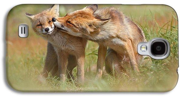 Foxy Love Series - But Mo-om II Galaxy S4 Case by Roeselien Raimond