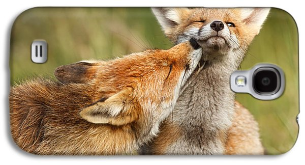 Foxy Love Series - But Mo-om Galaxy S4 Case by Roeselien Raimond