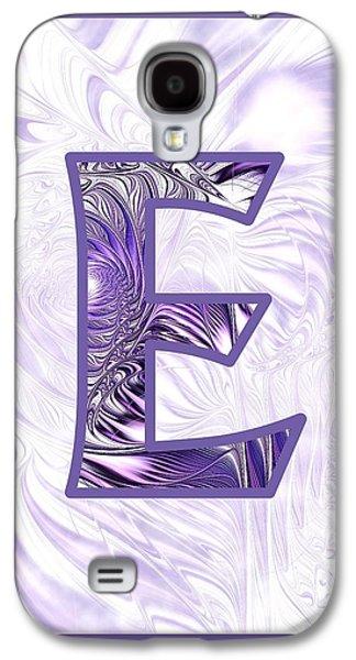 Fractal - Alphabet - E Is For Elegance Galaxy S4 Case by Anastasiya Malakhova