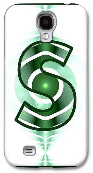 Fractal - Alphabet - S Is For Simple Galaxy S4 Case