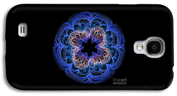 Fractal Art Blues By Kaye Menner Galaxy S4 Case