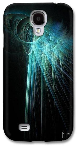 Fractal Rays Galaxy S4 Case