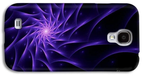 Fractal Web Galaxy S4 Case