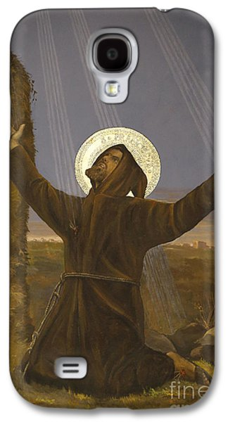 Francis Of Assisi Receives The Stigmata Galaxy S4 Case