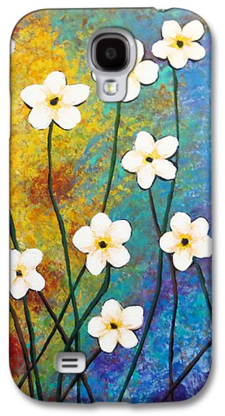 Frangipani Explosion Galaxy S4 Case by Teresa Wing