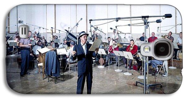 Frank Sinatra - Capitol Records Recording Studio #2 Galaxy S4 Case by The Titanic Project