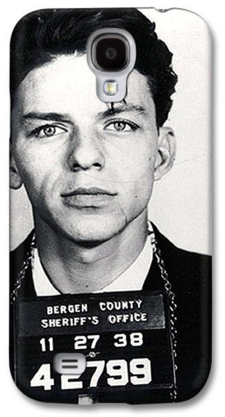 Frank Sinatra Mug Shot Vertical Galaxy S4 Case by Tony Rubino