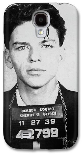Frank Sinatra Mugshot Galaxy S4 Case by Jon Neidert