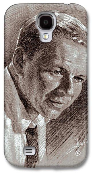 Frank Sinatra  Galaxy S4 Case by Ylli Haruni