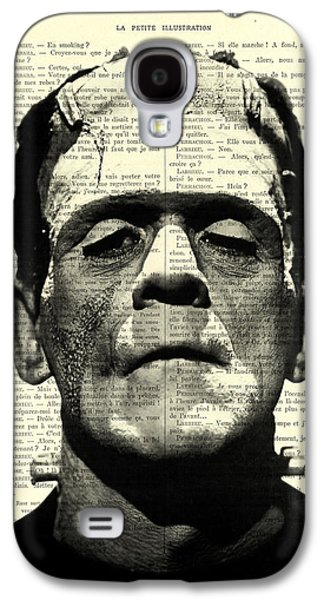 Frankenstein On Dictionary Page Galaxy S4 Case by Madame Memento