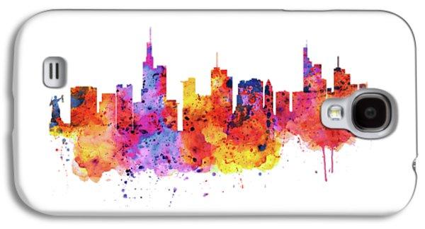 Frankfurt Skyline Galaxy S4 Case