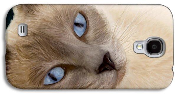Frankie Blue Eyes Galaxy S4 Case