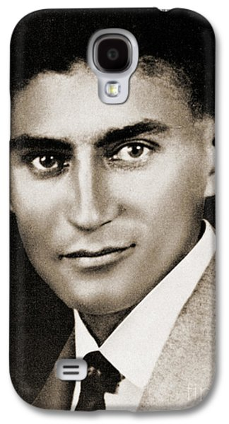 Franz Kafka Galaxy S4 Case by Czech School