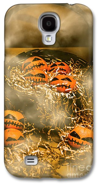 Freaky Halloween Fruits Galaxy S4 Case