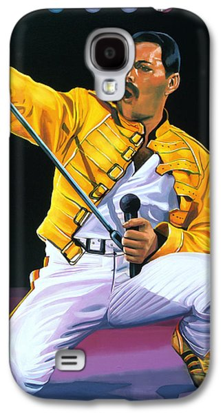 Freddie Mercury Live Galaxy S4 Case by Paul Meijering